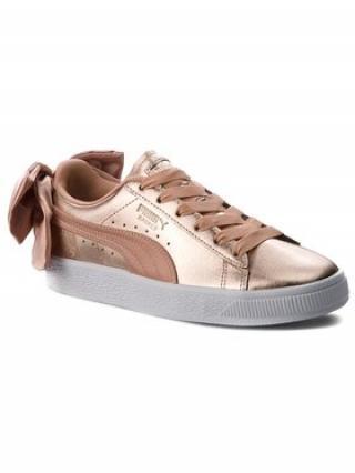 Puma Sneakersy Basket Bow Luxe Wns 367851 01 Zlatá dámské 38