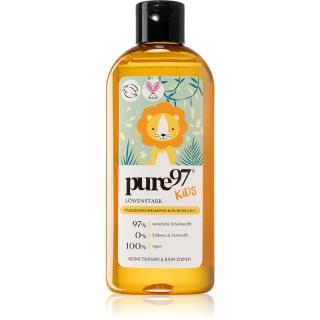 pure97 Kids Silný jako lev šampon a sprchový gel 2 v 1 pro děti 250 ml 250 ml