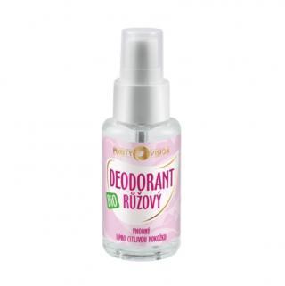 PURITY VISION Bio Růžový Deodorant 50 ml růžová