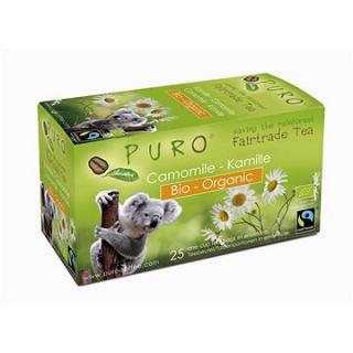 Puro Fairtrade BIO čaj porcovaný heřmánkový 25x1g