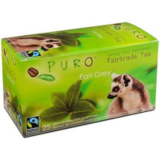 Puro Fairtrade čaj porcovaný Earl Grey černý 25x2g