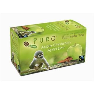 Puro Fairtrade čaj porcovaný jablko skořice 25x2g