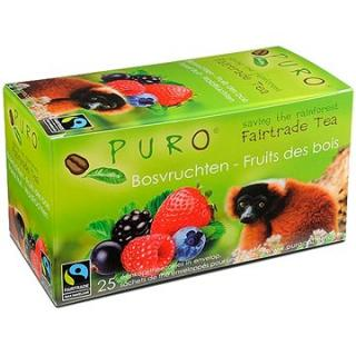 Puro Fairtrade čaj porcovaný lesní směs 25x2g
