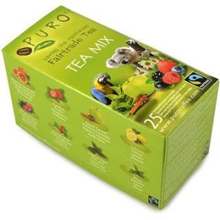 Puro Fairtrade čaj porcovaný MIX 25x2g