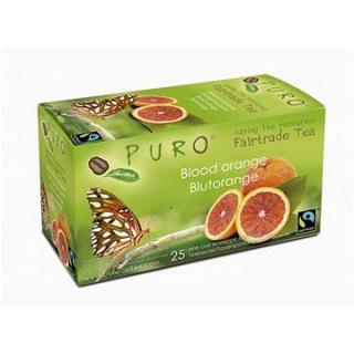 Puro Fairtrade čaj porcovaný pomerančový 25x2g