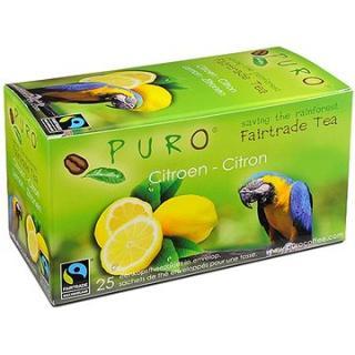 Puro Fairtrade čaj porcovaný s citrónem 25x2g
