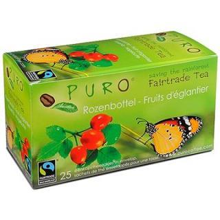 Puro Fairtrade čaj porcovaný šípek ibišek 25x2g