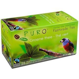 Puro Fairtrade čaj porcovaný zelený 25x2g