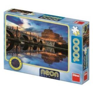 Puzzle Andělský hrad NEON 300 svítících dílků