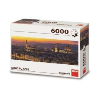 Puzzle Florencie - 6000 dílků