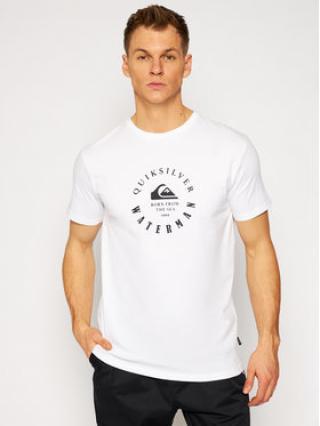 Quiksilver T-Shirt Little Marks EQMZT03208 Bílá Regular Fit pánské M