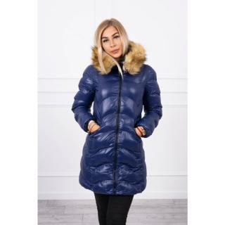 Quilted jacket navy blue dámské Neurčeno XL