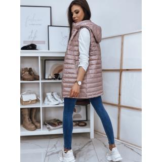 Quilted vest for women JESS purple TY1740 dámské Neurčeno XL