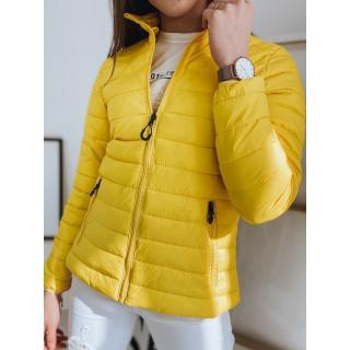 Quilted womens jacket EMMA yellow TY1742 dámské Neurčeno S