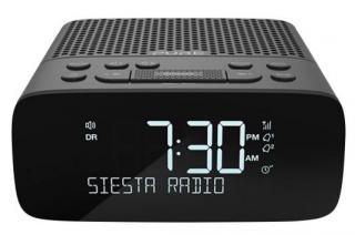 Radiopřijímač radiobudík s dab  a fm, pure siesta s2, grafitová