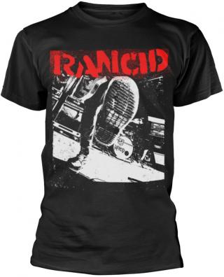 Rancid Boot T-Shirt S Black S