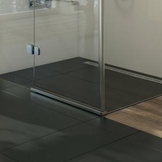 RAVAK Okapnička rovná BRILLIANT, GLASSLINE, SMARTLINE 900 mm D000000023