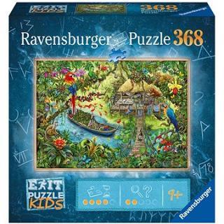 Ravensburger  129249 Exit KIDS Puzzle: Džungle 368 dílků