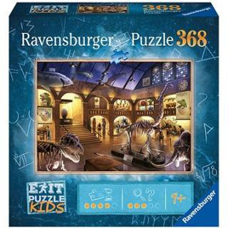 Ravensburger  129256 Exit KIDS Puzzle: Noc v muzeu 368 dílků