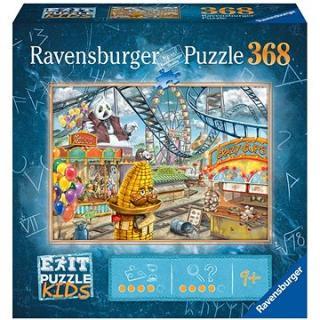 Ravensburger  129263 Exit KIDS Puzzle: Zábavní park 368 dílků