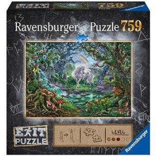 Ravensburger  150304 Exit Puzzle: Jednorožec 759 dílků
