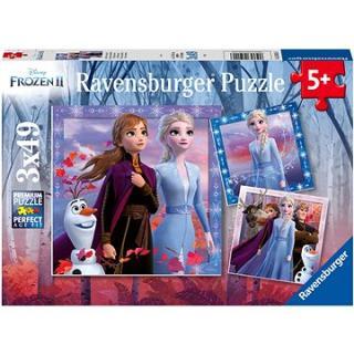 Ravensburgser 050116 Disney Ledové království 2 3x49 dílků