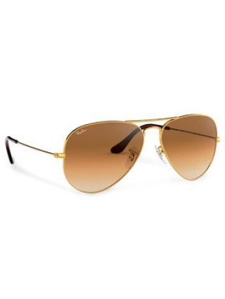 Ray-Ban Sluneční brýle Aviator Large Metal 0RB3025 001/51 Zlatá dámské 62