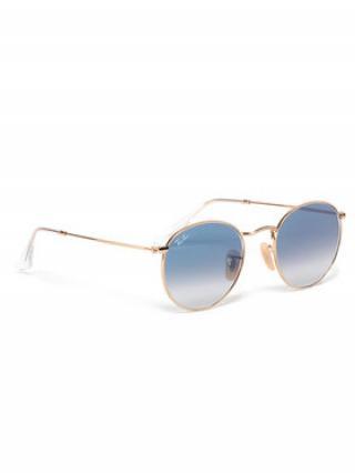 Ray-Ban Sluneční brýle Round Flat Lenses 0RB3447N 001/3F Zlatá 53