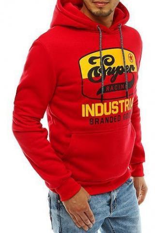 Red mens hoodie BX4559 pánské Neurčeno M