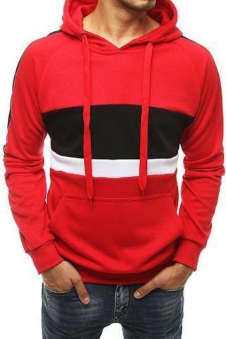 Red mens hoodie BX4573 pánské Neurčeno M