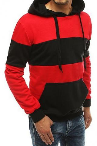 Red mens hoodie BX4656 pánské Neurčeno M