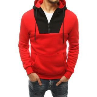 Red mens hoodie BX4808 pánské Neurčeno XXL