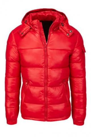 Red mens quilted winter jacket TX3534 pánské Neurčeno M