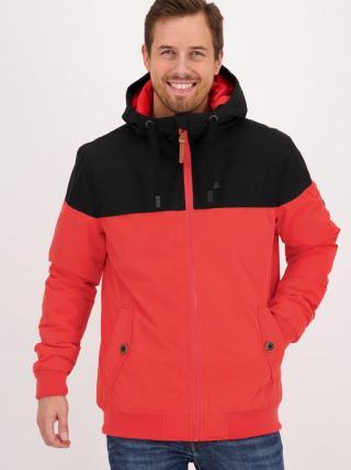 Red Mens Winter Jacket Alife and Kickin pánské červená S