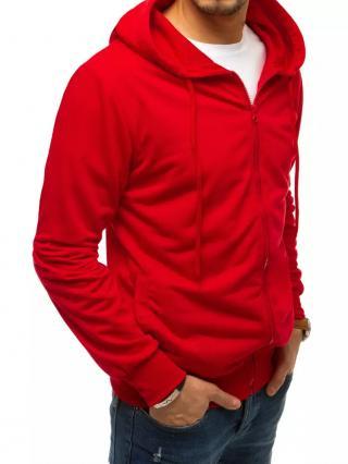 Red mens zip hoodie BX4959 pánské Neurčeno M