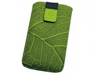 RedPoint Velvet univerzální pouzdro vel. 5XL motiv Green Leaf