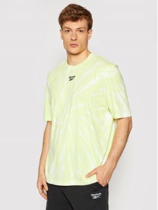 Reebok T-Shirt Unisex Classics Tie-Dye GL1657 Žlutá Loose Fit S