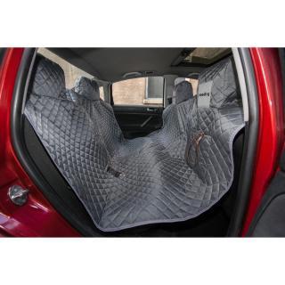 Reedog ochranný potah do auta pro psy na zip - šedý - XL