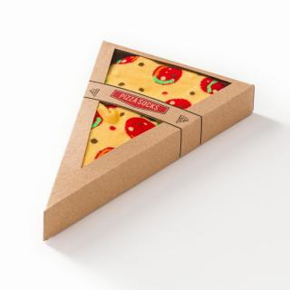 Regular socks CheersSocks pánské Pizza 43/46
