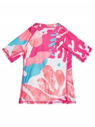 Reima Plavecké tričko Joonia 536584 Růžová Slim Fit dámské 104