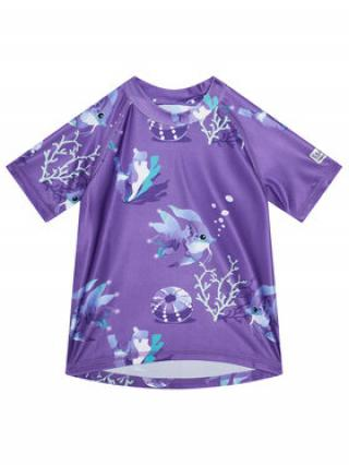 Reima Plavecké tričko Pulikoi 516566 Fialová Slim Fit dámské 86