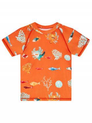 Reima Plavecké tričko Pulikoi 516566 Oranžová Slim Fit dámské 74