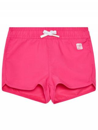 Reima Plážové šortky Nauru 532230 Růžová Regular Fit dámské 122