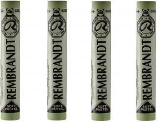 Rembrandt Suchý pastel Cinnabar Green Light 9