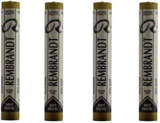 Rembrandt Suchý pastel Olive Green 7