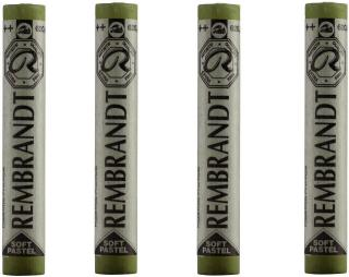 Rembrandt Suchý pastel Olive Green 8