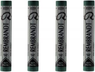 Rembrandt Suchý pastel Phthalo Green 3