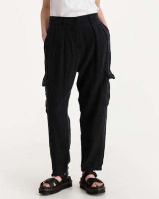 Replay Kalhoty Černá dámské 27