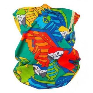Respilon dětský antivirový šátek R shield Light Parrot nákrčník