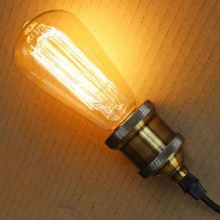 Retro VINTAGE žárovka E27 230V 25W 40W 60W Příkon: 25W